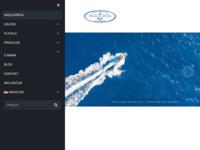 Frontpage screenshot for site: Nautico d.o.o. (http://www.nautico.hr)