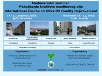Slika naslovnice sjedišta: Medjunarodni seminar o poboljšanju kvalitete maslinovog ulja (http://www.krs.hr/events/ooqi2003/)
