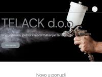 Slika naslovnice sjedišta: Telack d.o.o. (http://www.telack.hr)