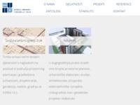 Frontpage screenshot for site: Zavod za urbanizam i izgradnju d.d. Osijek (http://www.zuios.hr/)