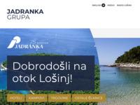 Frontpage screenshot for site: Jadranka d.d. (http://www.jadranka.hr)
