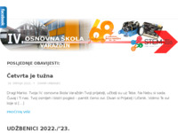 Slika naslovnice sjedišta: IV. osnovna škola Varaždin (http://4osnovna-vz.hr/)