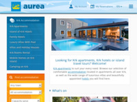 Frontpage screenshot for site: (http://www.aurea-krk.com/)