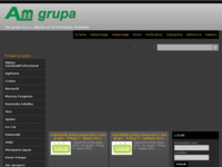 Frontpage screenshot for site: Am grupa d.o.o. (http://www.amgrupa.hr)