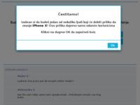 Frontpage screenshot for site: Ljetovanje.org - Ponuda smještaja i turističkog sadržaja (http://www.ljetovanje.org)