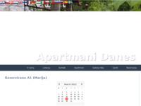 Slika naslovnice sjedišta: Apartmani Danes - Nin (http://www.inet.hr/~midanes/index.html)