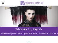 Slika naslovnice sjedišta: Frizerski salon W (http://www.frizerski-salon-w.hr)