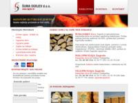 Frontpage screenshot for site: Šuma ogrijev d.o.o. (http://www.ogrjev.hr)