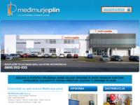Frontpage screenshot for site: Međimurje-Plin (http://www.medjimurje-plin.hr/)