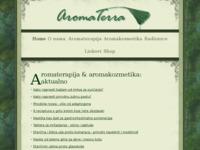 Frontpage screenshot for site: AromaTerra Centar (http://www.aromaterra.hr)