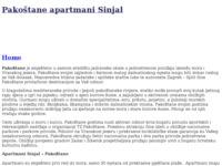 Slika naslovnice sjedišta: Pakoštane apartmani Sinjal (http://www.sinjal.com)