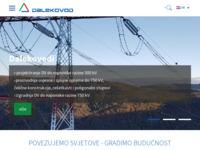 Frontpage screenshot for site: Dalekovod d.d. (http://www.dalekovod.hr/)