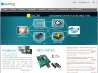 Frontpage screenshot for site: Xylon d.o.o. (http://www.xylon.hr)