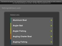 Slika naslovnice sjedišta: Fishingrobinson - ribarenje na Jadranu (http://www.fishingrobinson.com/)