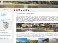 Frontpage screenshot for site: Apartmani Tabak (http://www.duceapartman.com)