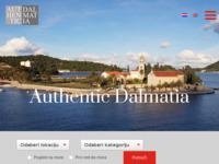 Frontpage screenshot for site: Autentične nekretnine u Dalmaciji (http://www.authenticdalmatia.com)