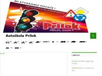 Slika naslovnice sjedišta: Autoškola Prilok (http://www.prilok.com)