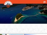 Frontpage screenshot for site: Smještaj na otoku Rabu (http://www.numero-uno.hr)