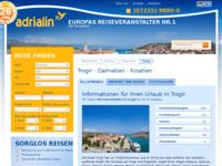 Slika naslovnice sjedišta: Trogir (http://www.kroatien-adrialin.de/ortsinfos/trogir/)