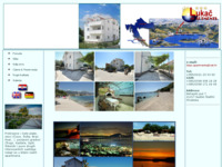Frontpage screenshot for site: Apartmani Lukač, Trogir - Kaštela (http://www.lukac-apartments.com)