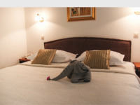 Frontpage screenshot for site: Hotel Vila Tina (http://www.vila-tina.hr)