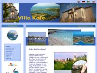 Frontpage screenshot for site: Apartmani Villa Kale (http://www.marlera.net)