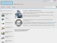 Frontpage screenshot for site: Eurogast d.o.o. -profesionalna kuhinjska oprema (http://www.eurogast.hr)