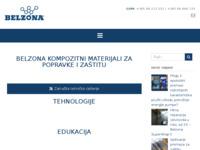 Slika naslovnice sjedišta: Isea d.o.o. - distributer Belzona materijala (http://www.belzona.hr/)