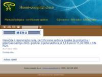 Slika naslovnice sjedišta: Hosni-compitel d.o.o. (http://hosnicompitel.hr)