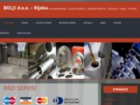 Slika naslovnice sjedišta: Auspuh servis Bolji d.o.o. Rijeka (http://www.bolji.hr)
