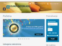 Frontpage screenshot for site: Euro-interijeri (http://www.euro-interijeri.hr)