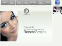 Frontpage screenshot for site: Vizažistica Renata Pipić - Zagreb (http://www.makeup-renata.com/)