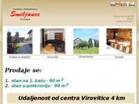 Frontpage screenshot for site: Restaurant-prenoćište Virginia - Korija (http://www.smiljanec-korija.hr/)