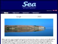 Slika naslovnice sjedišta: Apartmani Sea (http://www.apartmani-sea.com)