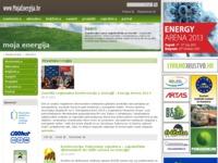 Frontpage screenshot for site: Portal Moja Energija (http://www.mojaenergija.hr/)