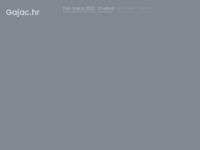 Frontpage screenshot for site: Udruga Gajac (http://www.gajac.hr)
