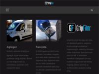 Frontpage screenshot for site: GripFilm (http://www.grip-film.hr/)
