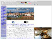 Frontpage screenshot for site: Apartman Maricic - Rab (http://www.rab-island.com)