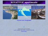 Slika naslovnice sjedišta: Apartmani Kovačević - privatni smještaj (http://www.inet.hr/~tdragovi/rogoznica)