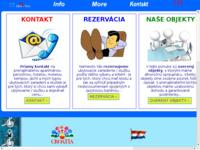 Frontpage screenshot for site: Promocija hrvatkog turizma u Slovačkoj (http://www.croatia.sk)