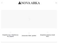 Frontpage screenshot for site: Nova Arka (http://www.novaarka.hr)