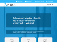 Slika naslovnice sjedišta: X-Media d.o.o. - Web design studio (http://www.xmedia.hr)