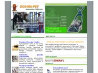 Slika naslovnice sjedišta: ECO-MA-PET, servis za čišćenje (http://www.eco-ma-pet.hr)