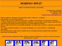 Slika naslovnice sjedišta: Marino Split (http://www.inet.hr/~marinost)