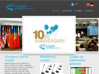 Frontpage screenshot for site: Kongresni servis - Expert (http://www.expert-congress.com/)