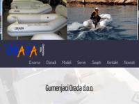 Frontpage screenshot for site: Orada (http://www.orada.hr)