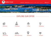 Frontpage screenshot for site: Turistička agencija Gulliver u Dubrovniku (http://www.gulliver.hr)
