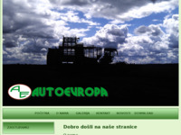 Frontpage screenshot for site: Autoevropa d.o.o. (http://www.autoevropa.hr)