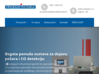 Slika naslovnice sjedišta: Produktronika d.o.o. (http://www.produktronika.hr)