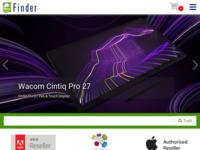 Slika naslovnice sjedišta: Fider d.o.o. informaticke tehnologije i usluge (http://www.finder.hr)